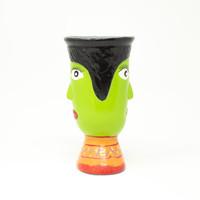 Vase, Hand Painted, Handmade, Sustainable, Eco-Friendly, Fair Trade