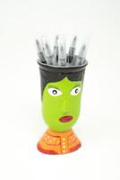 Whimsical, Colorful, Pen Holder, Vase,