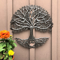 Indoor outdoor Haiti metal wall art