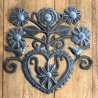 recycled hand made Haitian Metal wall art