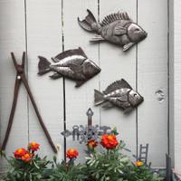 Garden or indoor metal wall art