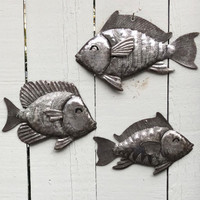 Haitian Nautical Theme metal wall art