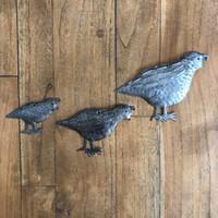 quail country living wall art made in Haiti