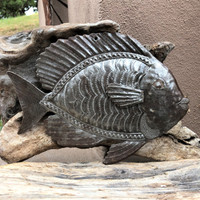 Haitian metal nautical wall art recycled fair trade federation
