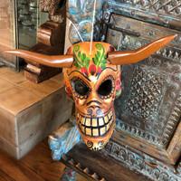 wall decor devil Skull mask