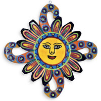 wooden sun