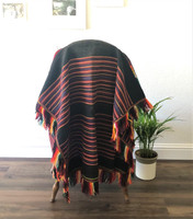 """35"""" wide with a 3"""" fringe and 60"""" long with the 3"""" fringe"""