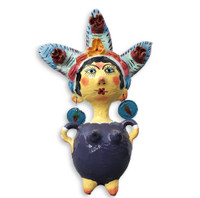 Mexican Coconut Dolls