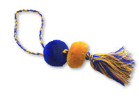 Purse Charm, Bag Accessories, Team Spirit Wear, Warrior Team Color ,