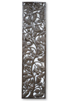 Tree of Life, Trees, One-of-a-Kind, Limited Edition, Sustainable, Eco-Friendly, Handcrafted, Handmade, Recycle, Recyclable, Steel, Metal, Oil Barrels, Framed Art, Haiti, Haitian, Flowers, Floral Art, Garden Decor