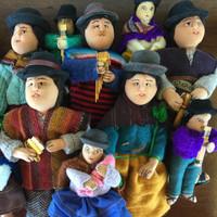 Bolivian Crowd, Folk Art
