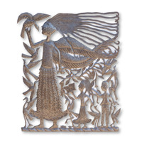 Christianity, Preaching, Missionary Work, One-of-a-Kind, Limited Edition, Sustainable, Eco-Friendly, Handcrafted, Handmade, Birds, Religious, Home Decor, Sustainable, Eco-Friendly