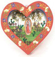 Our Lady of Guadalupe Tin Nicho