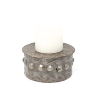 Candle, Candle Holder, Candles, Matches, Recycle, Recyclable, Sustainable, Eco-Friendly, Handcrafted, Handmade, Limited Edition, One-of-a-Kind, Metal, Steel, Rustic, Home Decor, Oil Barrels, Recycled