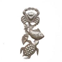 Sea Life, Crab, Fish, Fishing, Starfish, Stars, Seashell, Shells, Turtles, Sea Turtle, Limited Edition, Sustainable, Eco-Friendly, Handcrafted, Handmade