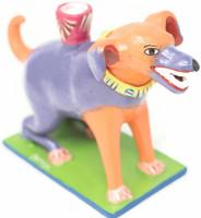 Happy Dog , Mexican Folk Art