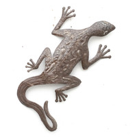 Gecko, Lizards, Reptiles, Sustainable, Eco-Friendly, Handcrafted, Handmade, Limited Edition, Recycle, Recyclable, Fair Trade, One-of-a-Kind