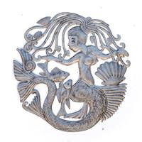 Mermaid, Mermaids, Nautical, Mystical Creature, The Little Mermaid, Under the Sea, Sea Life, Handcrafted, Handmade, Sea Life, Ocean, Fish, Fishing, Recycle, Recyclable, Fair Trade
