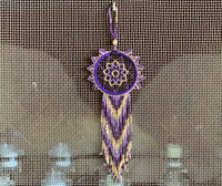 Dream catchers were hung above the beds of sleeping children to protect them from bad dreams and evil spirits.