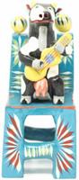 Cow Musician Playing Guitar