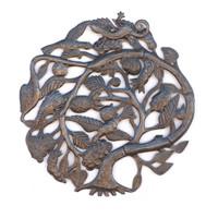 Tree of Life, Trees, Blooming Tree, Handmade, Handcrafted, Haiti, Haitian Art, Sculpture, Sustainable, Eco-Friendly, Limited Edition, Lizard, Metal, Steel