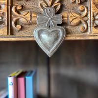 Sacred Heart with Cross