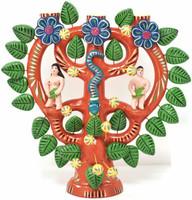 Adam and Eve Whimsical Folk Art Mexico