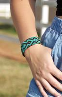 Handmade Beaded Bracelet, Stacking Bracelets, Multi Color Beads, Friendship Gift, Native American Inspired Loom