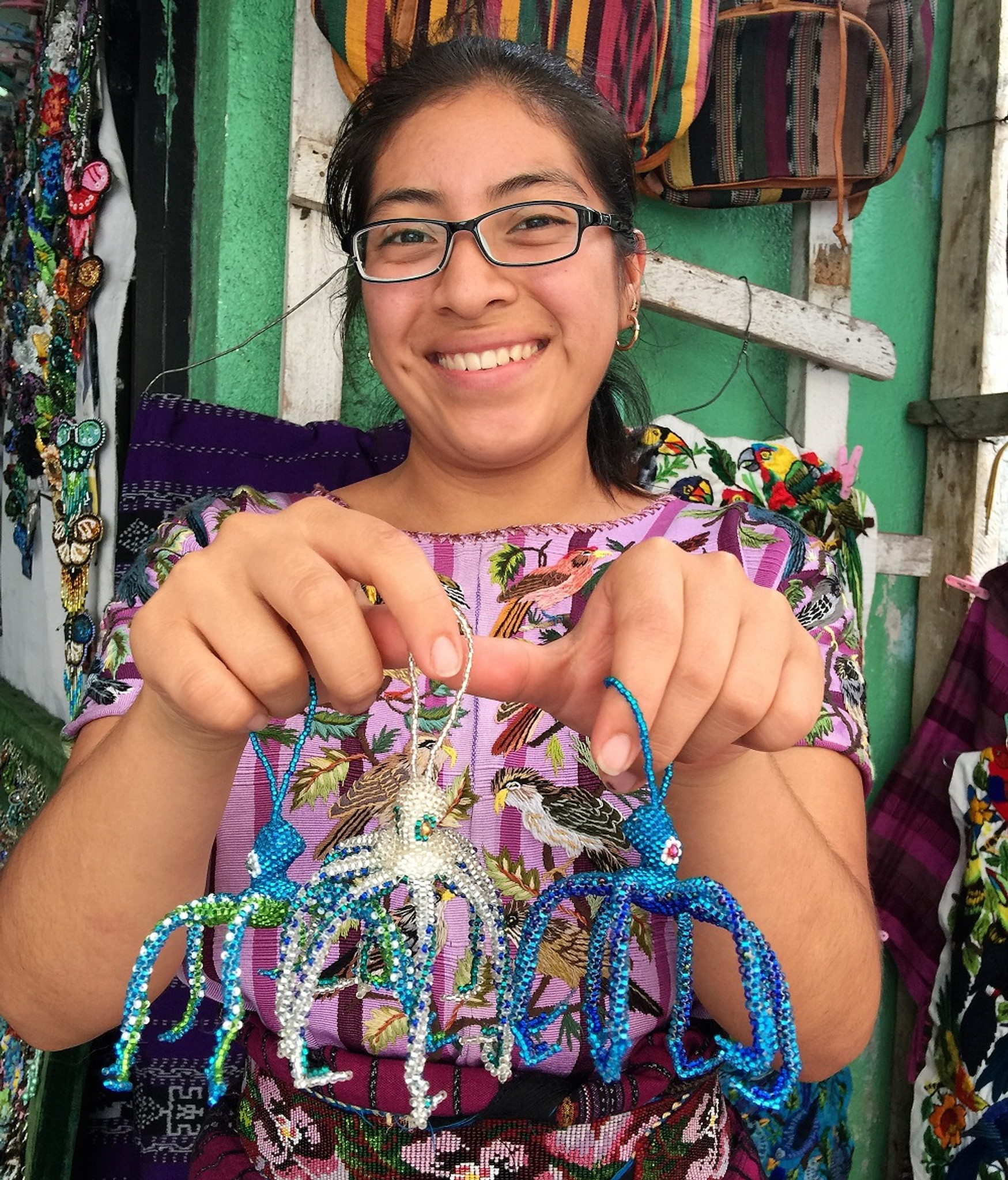Have you seen our new Guatemalan beaded accessories?