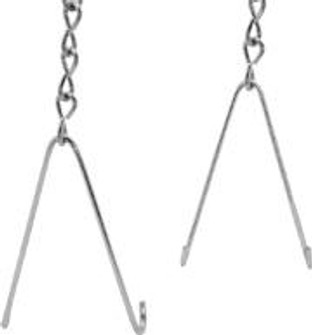 TONG HANGERS W/ 10ft CHAIN, END MOUNT(P) (193|HC204)