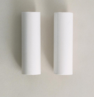 2-4'' WH PLS STD CANDLE COV (27 S70/371)