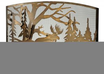 60''W X 40''H Moose Creek Arched Fireplace Screen (96|113069)