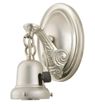 7''H 1 LT BRUSHED NICKEL WALL SCONCE (96 102905)
