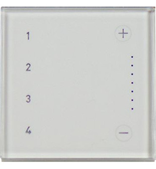 adorne® Touch™ Wi-Fi Ready Scene Controller (1452 ADTHRIWHCW1)