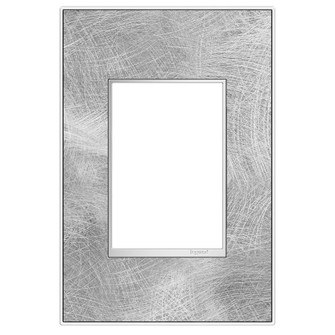 adorne® Spiraled Stainless One-Gang-Plus Screwless Wall Plate (1452 AWM1G3SP4)