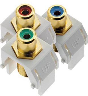 adorne® Component Video RCA to F Kit (1452|ACRGBRCAFW1)