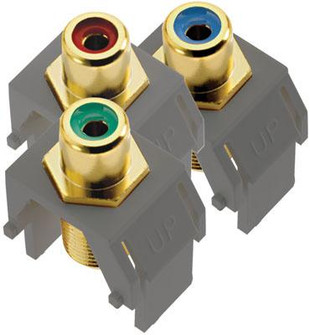 adorne® Component Video RCA to F Kit (1452|ACRGBRCAFM1)