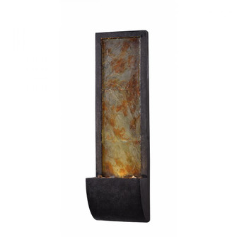 Triptych Indoor/Outdoor Wall Fountain (67|51034SLBL)