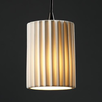 Mini 1-Light Pendant (254|POR-8815-10-CHKR-DBRZ)