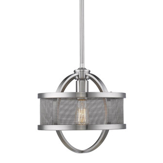 Colson Mini Pendant (with shade) (36|3167-M1L PW-PW)