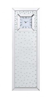 Sparkle 35 in. Contemporary Clear Crystal Wall Clock (758 MR9237)