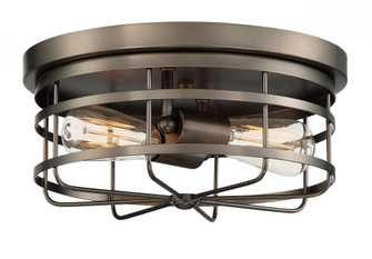 2 Light Flush Mount (21|1264-SCB)