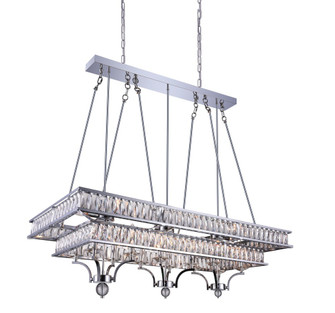 20 Light Island Chandelier with Chrome finish (3691|9972P47-20-601)