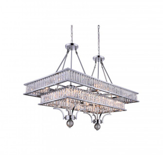 16 Light Island Chandelier with Chrome finish (3691|9972P37-16-601)