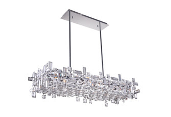 12 Light Island Chandelier with Chrome finish (3691|5689P35-12-601)