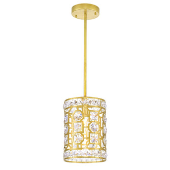 1 Light Pendant with Champagne Finish (3691|1026P7-1-193)