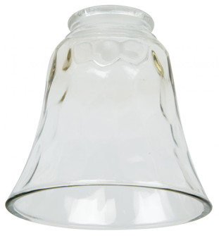 Small Bell - Hammered Clear Glass Replacement Glass (20|107)