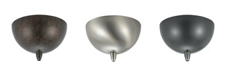 Canopy for low voltage pendant, 12V, 50W max w/ transformer (162 CP-972-DB)