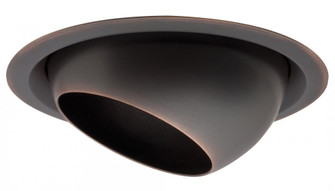 6 in. Oil Rubbed Bronze Eyeball Full Reflector Trim with Wide Flange (525|172Y2C)