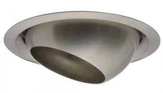 6 in. Brushed Nickel Eyeball Full Reflector Trim with Wide Flange (525|172Y2E)